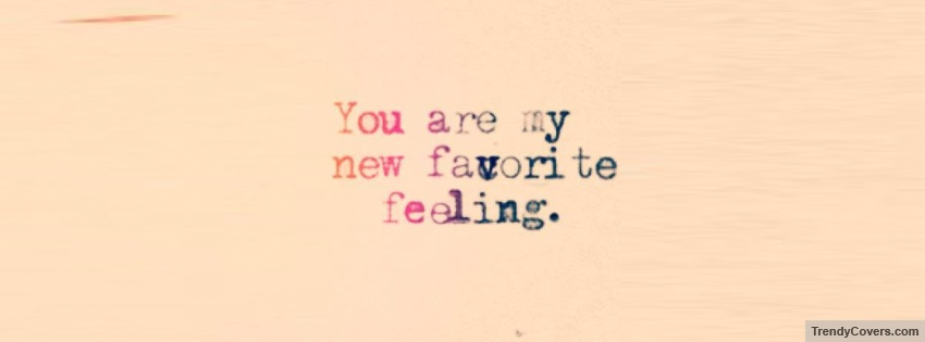 you are my new favorite feeling cover