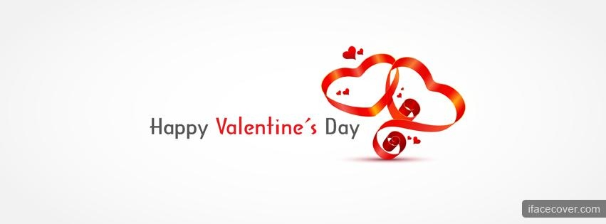 Happy Valentine's Day hearts cover