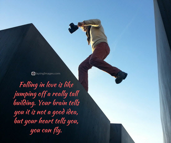 falling in love quote picture