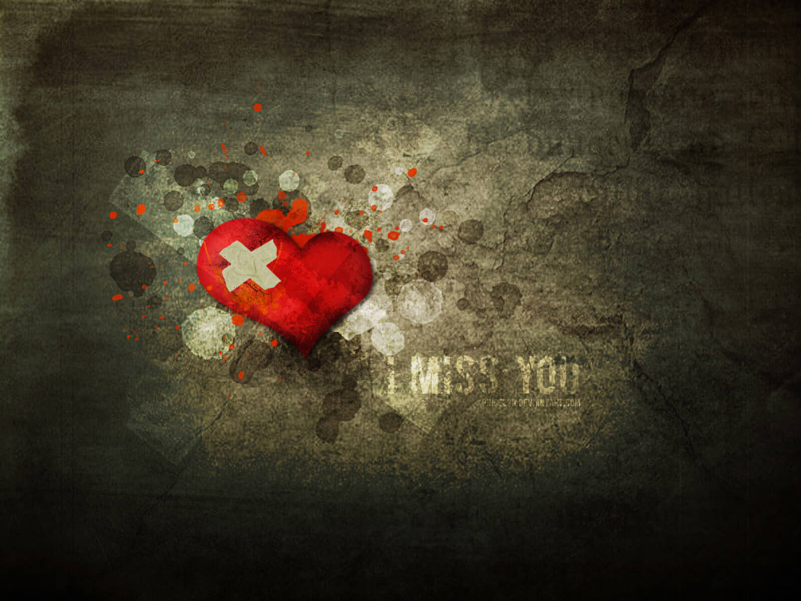 i miss you background