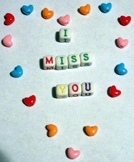i miss you hearts