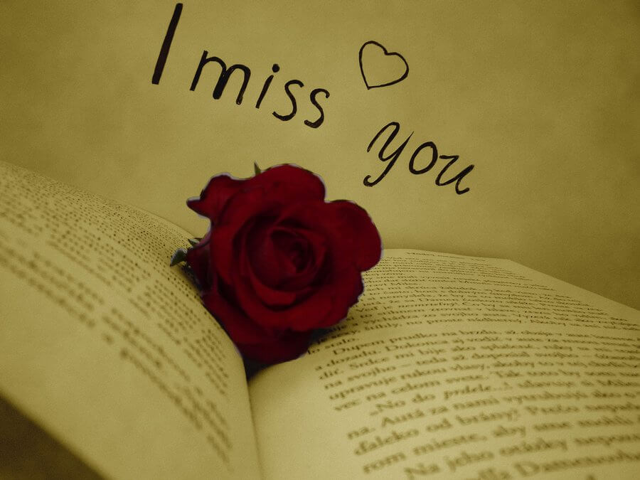 i miss you status picture