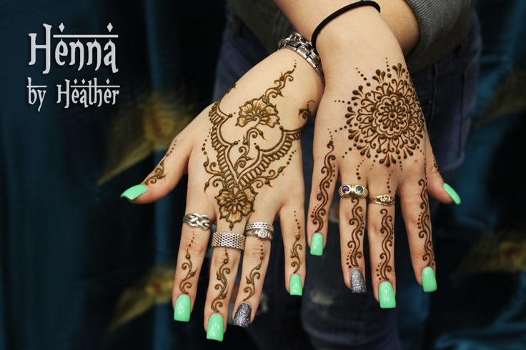 latest back hand mehndi pattern