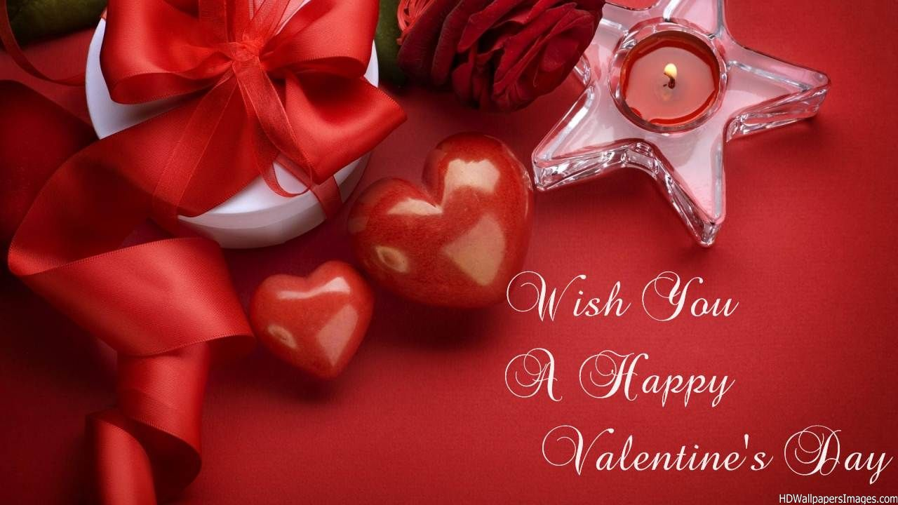 wish you a Happy valentines day