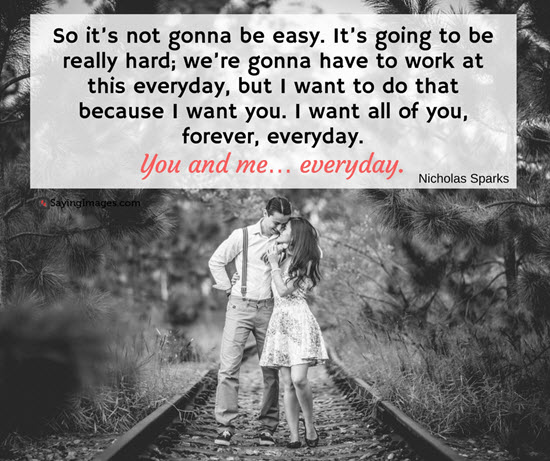 you and me everyday quote picture