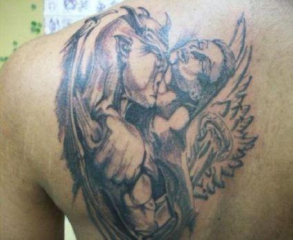 Devil wins the battle from angel