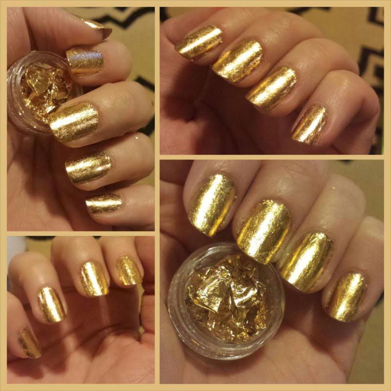 Gold Leaf Manicure