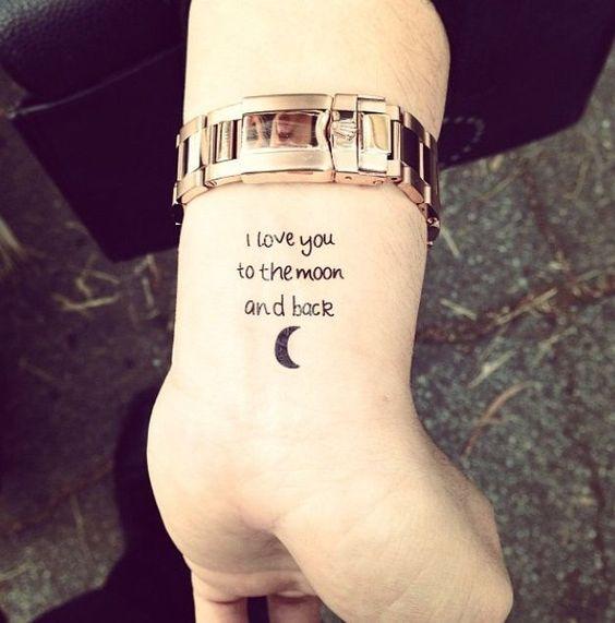 cute tiny wrist tattoo