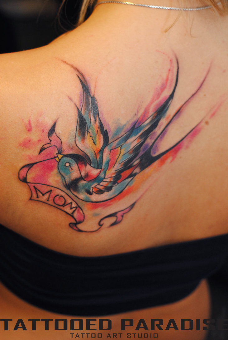 swallow tattoo