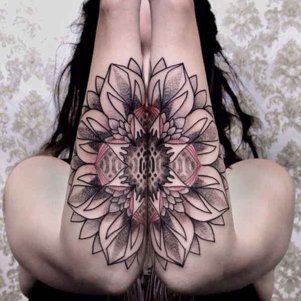 floral tattoo pattern