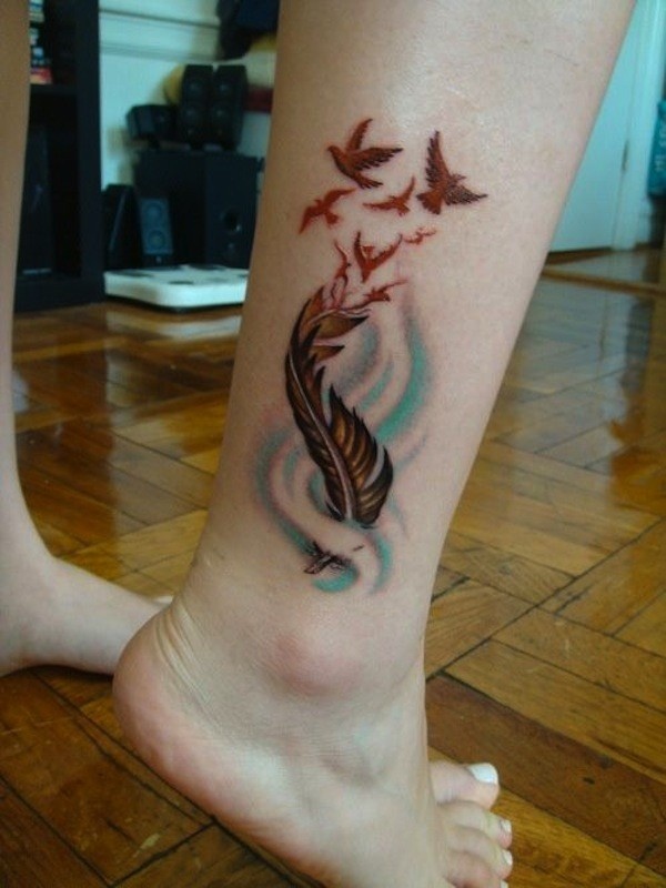 birds of a feather tattoo