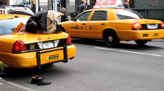 muslim taxi driver namaz prayer
