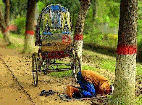 prayer at roadside