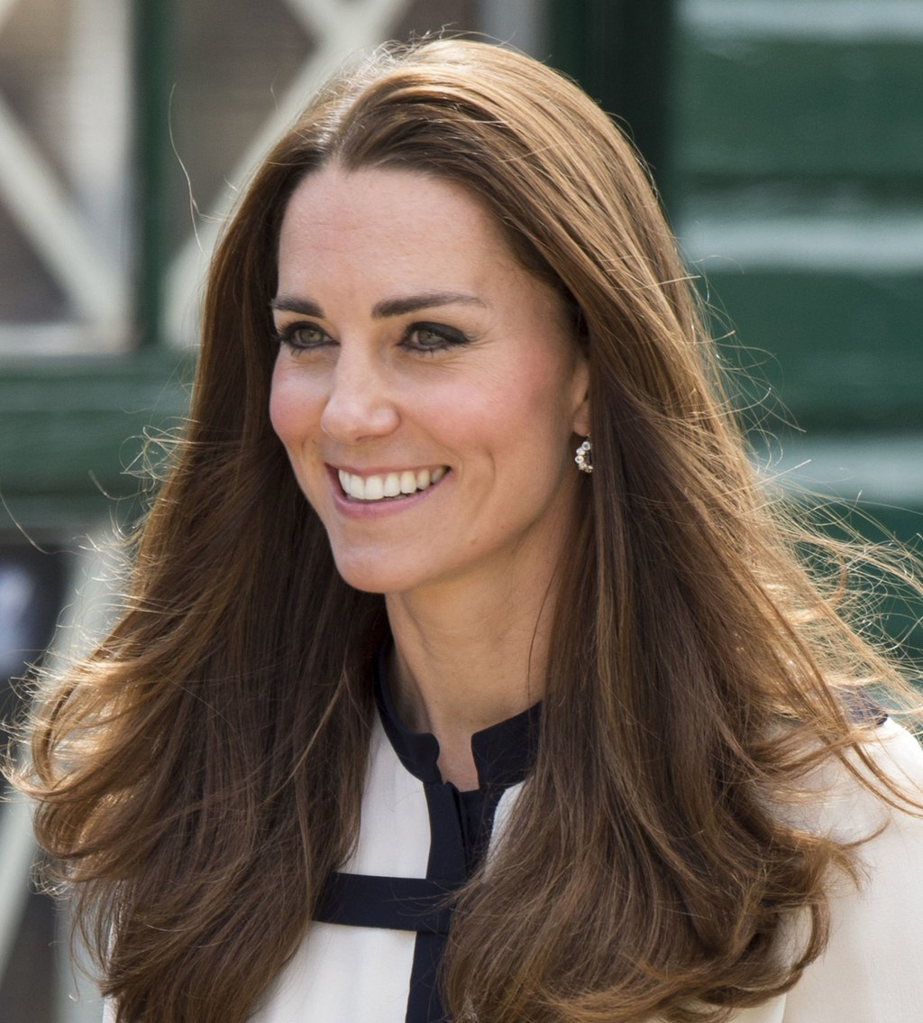 Kate Middleton long layered haircut