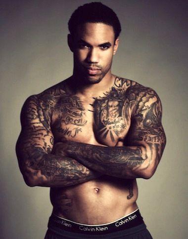 black men tattoo ideas