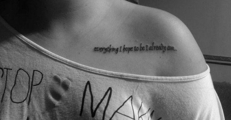 cute-collarbone-quote-tattoo-for-girls