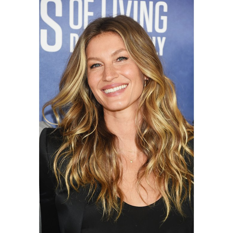 gisele bundchen long haircut