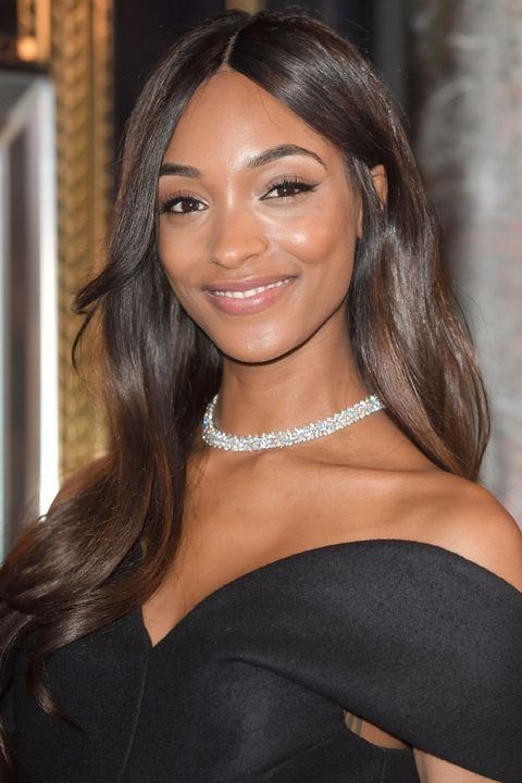 jourdan dunn long hair