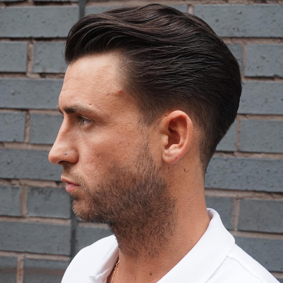 3-Men Slicked Back Hairstyles 2017
