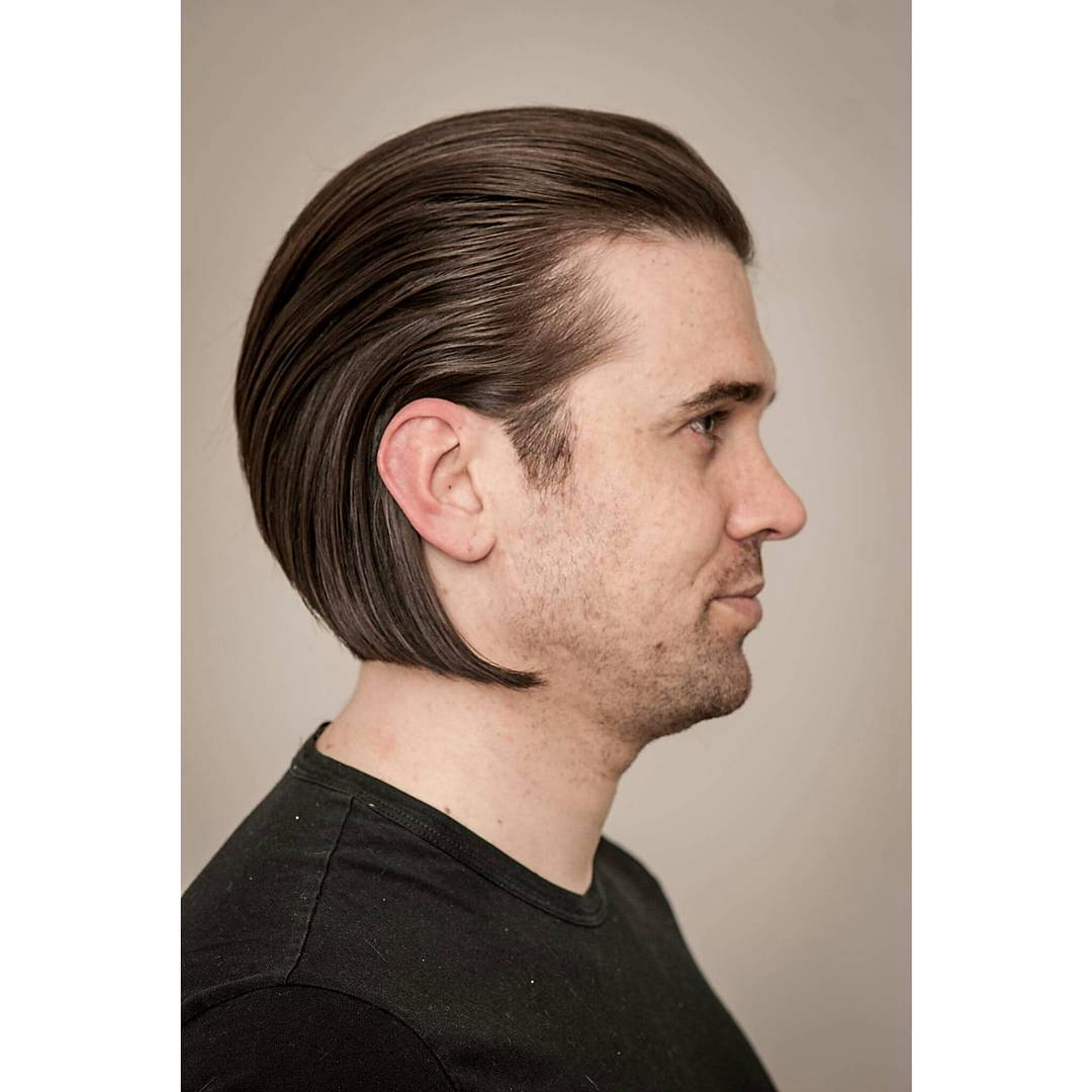 9-Slicked Back Hairstyles 2017 Men
