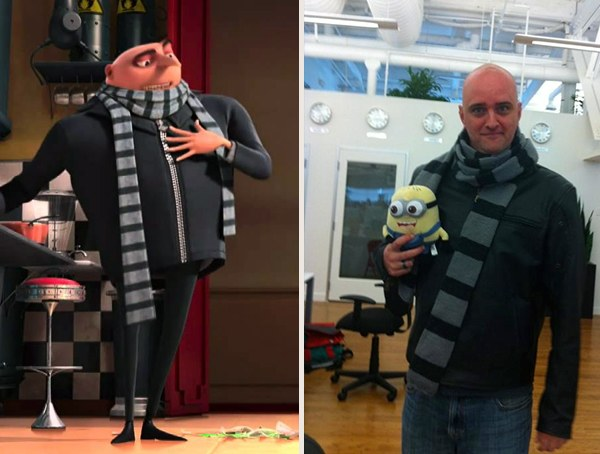 Cool Gru from Despicable Me Halloween Costumes