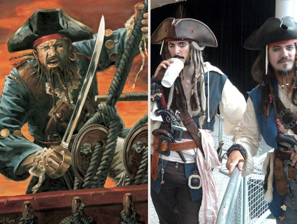 Pirate Halloween Men Costumes