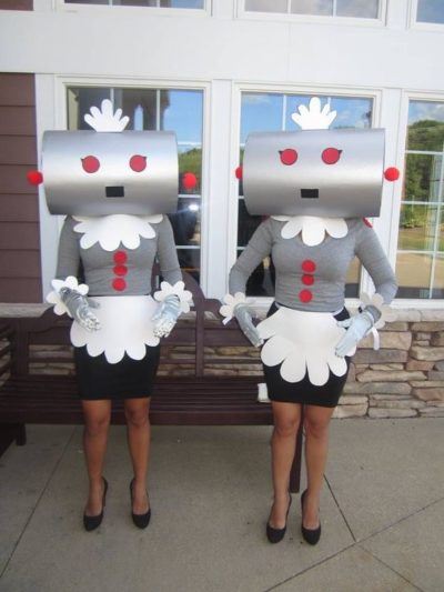 the robot creative halloween costume idea pinterest