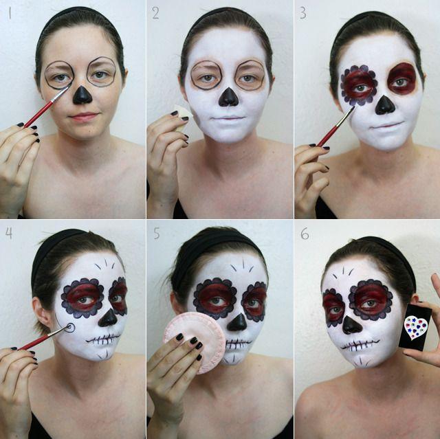 Cultural Halloween makeup inspiration