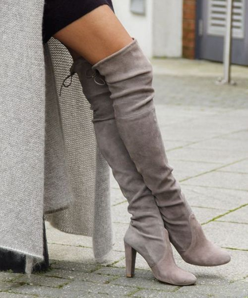 Fashion Fall Trends 2017-2018 Long Boots