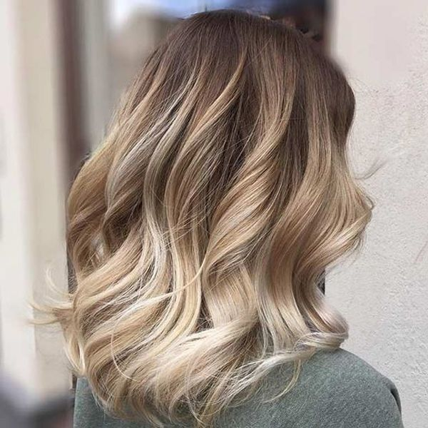 Hair Color Ideas For Autumn-Winter 2017 - 2018 with Blonde Brown