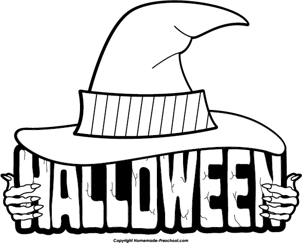 Halloween-Clipart-Black-and-White