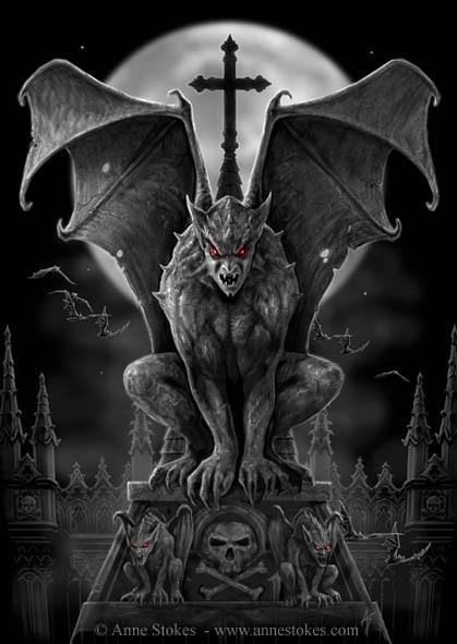 Halloween-Monster-List-Gargoyles-Myths