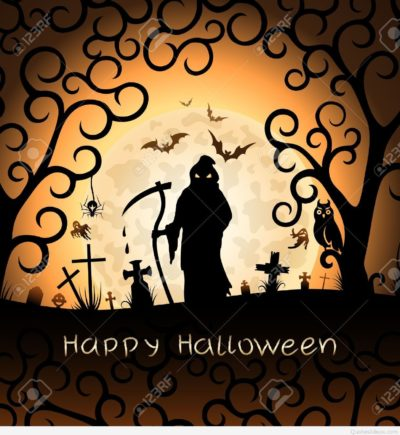 Halloween-greeting-card-with-Death-Stock-Vector-halloween-spooky-scary
