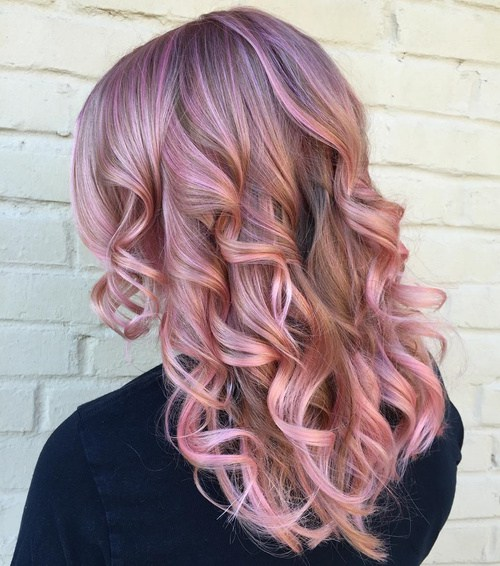 I need to get my hair colored like this pastel lavender pink highlights