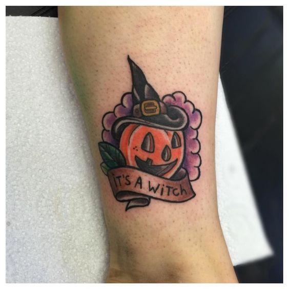 Jack O Lantern Tattoo