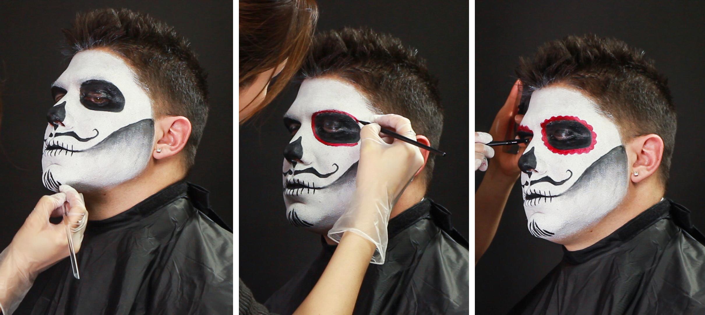 Scary Face paint idea