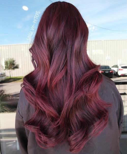 Women Best Winter Hair Color Trends & Ideas