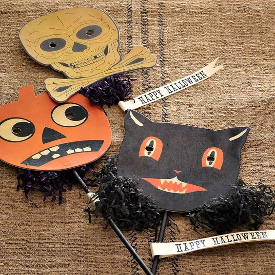 cute Happy Halloween decoration card photo