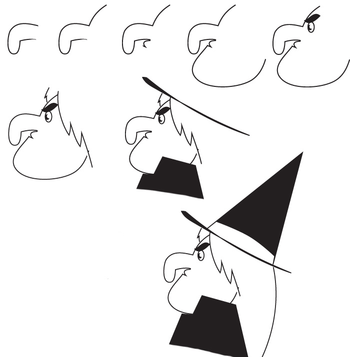 easy-way-to-draw-a-witch-coloring-pages