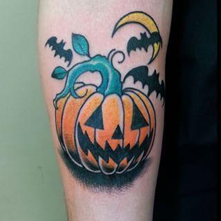jackolantern tattoo design