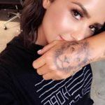 Demi Lovato Lion Tattoo