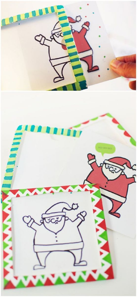 Christmas Card Ideas Drawing Entertainmentmesh