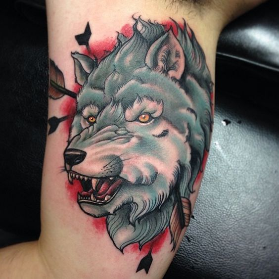 game of thrones tattoo wolf tattoo