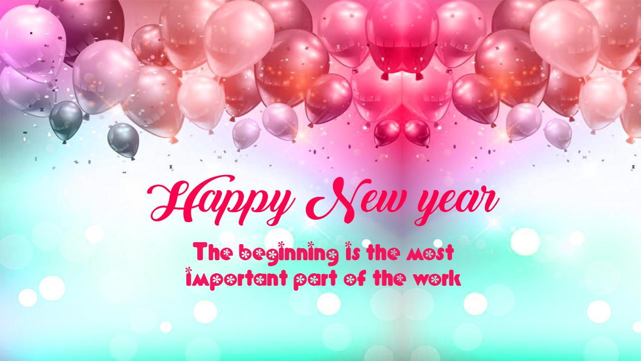 happy new years greetings 2018 picture