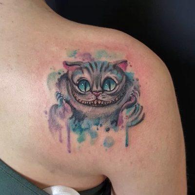 Cheshire Cat Tattoo