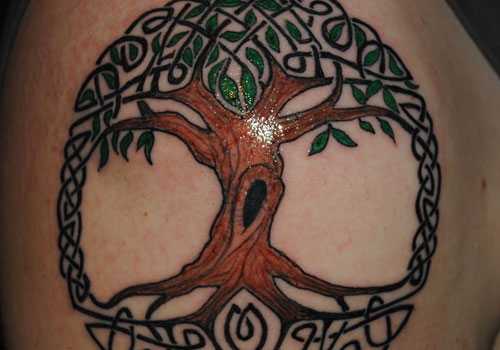 Complete tree of life tattoo