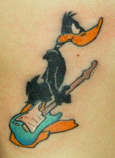 Daffy Duck Tattoo