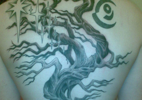 Endurance tree of life tattoo
