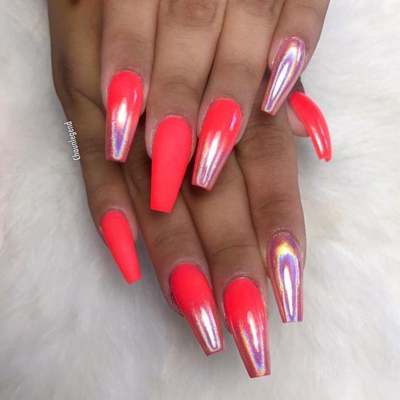 Neon nail designs