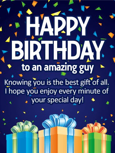 happy bday wishes for men
